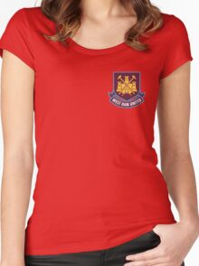 West Ham United Women's Fitted Scoop T-Shirt