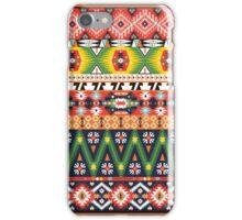 Navajo colorful  tribal pattern  iPhone Case/Skin