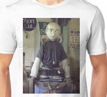 Butcher in Caricature Unisex T-Shirt