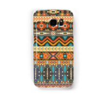 Colorful  tribal pattern with geometric elements Samsung Galaxy Case/Skin