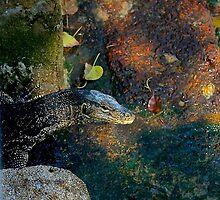 Malayan Water Lizard by ANT2NET