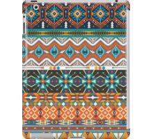 Native american colorful  tribal pattern  iPad Case/Skin