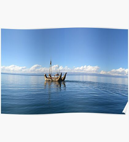 Straw Boats Poster