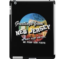 Welcome to NJ iPad Case/Skin