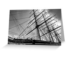 The Cutty Sark Greenwich Greeting Card