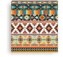 Navajo pattern with geometric elements  Canvas Print