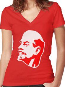LENIN Women's Fitted V-Neck T-Shirt
