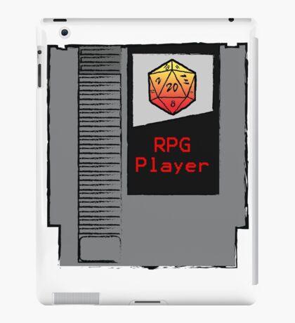 Firey Red d20 RPG Player NES cartridge iPad Case/Skin