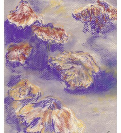 Plein Air Shrooms (pastel) Sticker