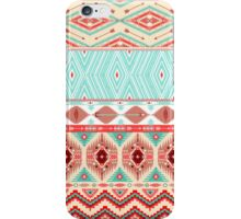 Aztec geometric seamless pattern iPhone Case/Skin