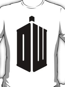 Doctor Who logo poster and t shirt T-Shirt