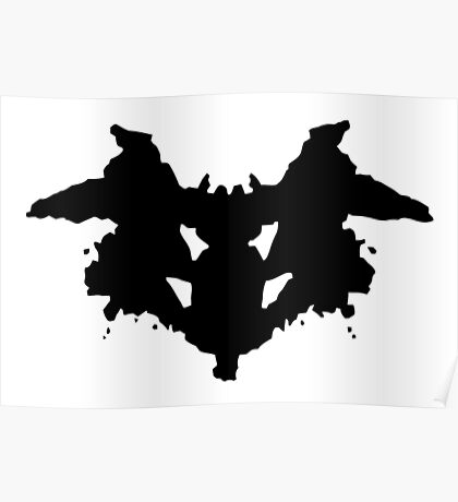 Rorschach Psychology Test Item for Psychologists! Poster