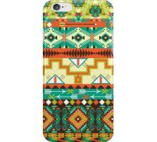 Aztec geometric seamless pattern iPhone Case/Skin