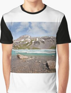 Boulders in Upper Ice Lake Graphic T-Shirt