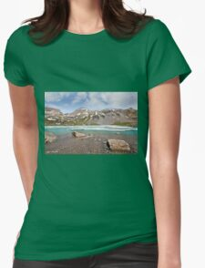Boulders in Upper Ice Lake Womens Fitted T-Shirt
