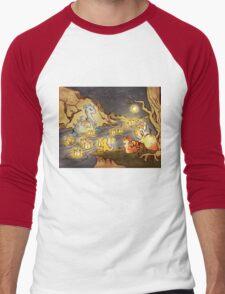 Pokemon Water and Fire Festival Men's Baseball ¾ T-Shirt