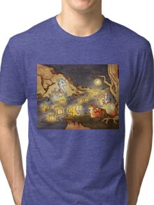 Pokemon Water and Fire Festival Tri-blend T-Shirt