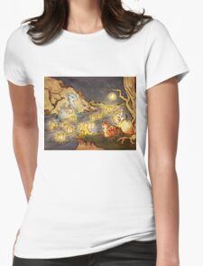 Pokemon Water and Fire Festival Womens Fitted T-Shirt