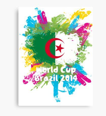 World Cup Brazil 2014 - Algeria Canvas Print