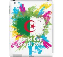 World Cup Brazil 2014 - Algeria iPad Case/Skin