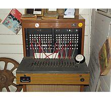Telephone Exchange Vintage Photographic Print