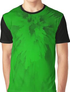 Green Spikes Graphic T-Shirt