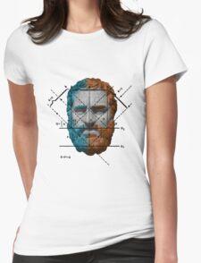 Portrait Art Womens Fitted T-Shirt