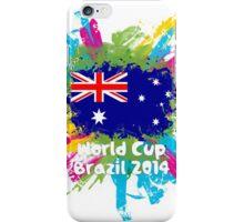 World Cup Brazil 2014 - Australia iPhone Case/Skin