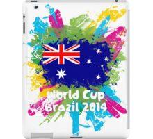 World Cup Brazil 2014 - Australia iPad Case/Skin