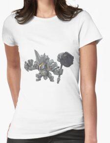 Reinhardt Cute Spray Womens Fitted T-Shirt
