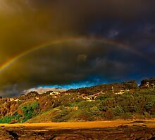 """Rainbow Over North Lorne"" by Phil Thomson IPA"