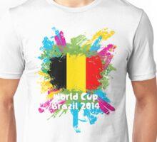 World Cup Brazil 2014 - Belgium Unisex T-Shirt