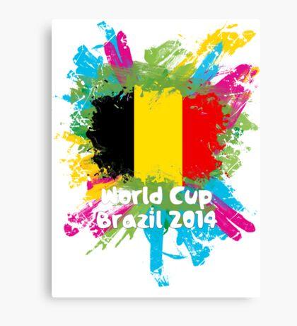 World Cup Brazil 2014 - Belgium Canvas Print