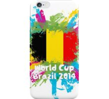World Cup Brazil 2014 - Belgium iPhone Case/Skin