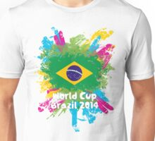 World Cup Brazil 2014 - Brazil Unisex T-Shirt