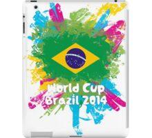 World Cup Brazil 2014 - Brazil iPad Case/Skin