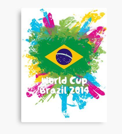 World Cup Brazil 2014 - Brazil Canvas Print