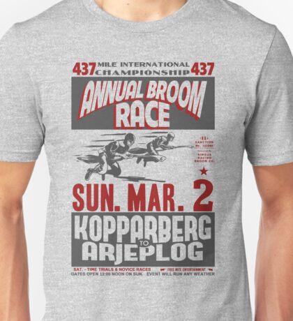 Annual Broom Race Unisex T-Shirt