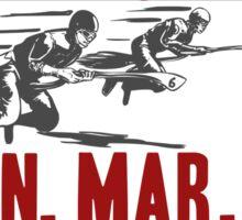 Annual Broom Race Sticker