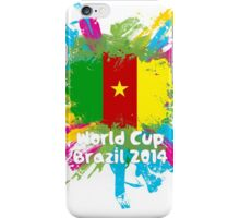 World Cup Brazil 2014 - Cameroon iPhone Case/Skin