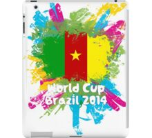 World Cup Brazil 2014 - Cameroon iPad Case/Skin