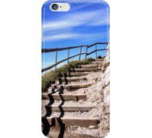 To the top of Mount Pilatus iPhone Case/Skin