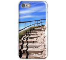 To the top of Mount Pilatus iPhone Case/Skin