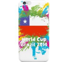 World Cup Brazil 2014 - Chile iPhone Case/Skin