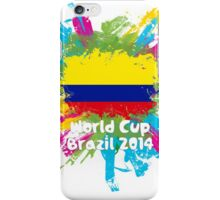 World Cup Brazil 2014 - Colombia iPhone Case/Skin