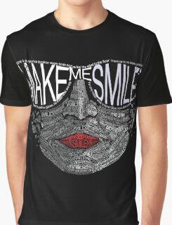 Typographic Portrait Graphic T-Shirt