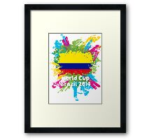 World Cup Brazil 2014 - Colombia Framed Print