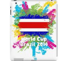 World Cup Brazil 2014 - Costa Rica iPad Case/Skin