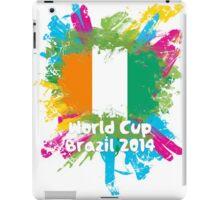 World Cup Brazil 2014 - Côte d'Ivoire iPad Case/Skin