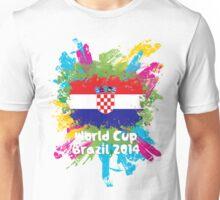 World Cup Brazil 2014 - Croatia Unisex T-Shirt